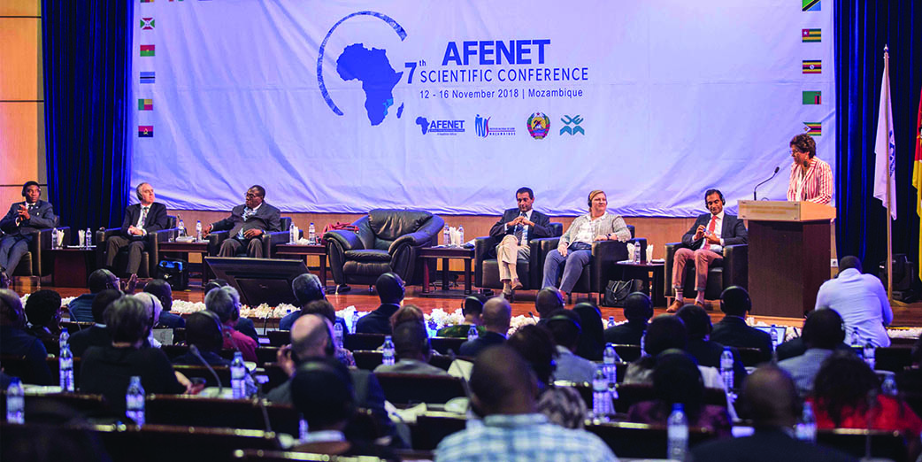 Public Health Experts attend the 7th AFENET Scientific Conference and 3rd Ministerial Round Table in Maputo, Mozambique, November 11-16 2018