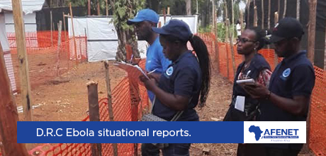 Ebola Situational Reports from Beni EOC