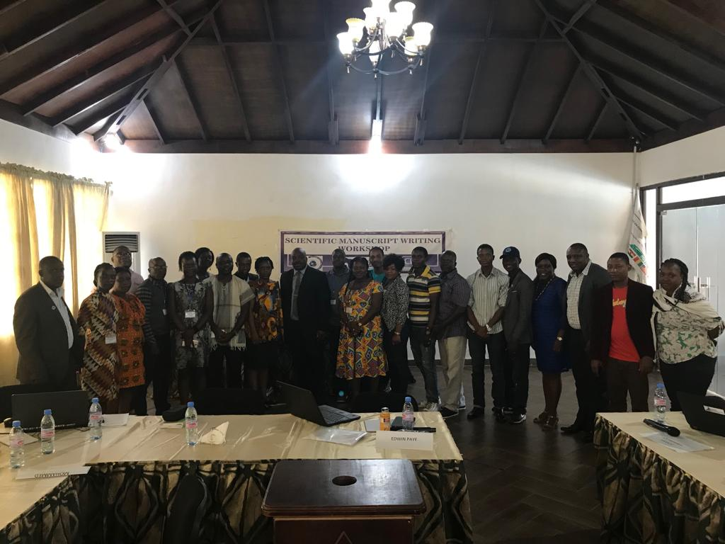 Liberia FETP Holds First Scientific Writing Workshop