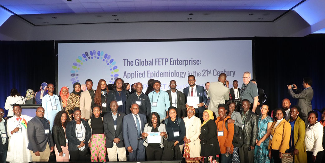 AFENET residents, graduates and faculty were well represented at the TEPHINET Conference 28 October- 2 November 2019, under the leadership of the Ag. Executive Director- Dr. Simon Antara