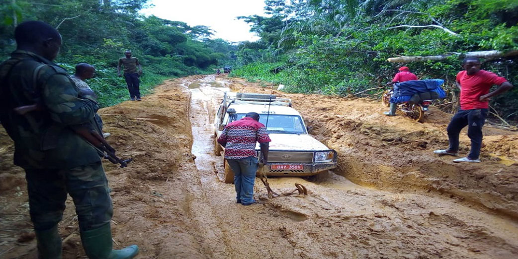 ACoDD EVD teams making their way to hard-to-reach health centers in DRC