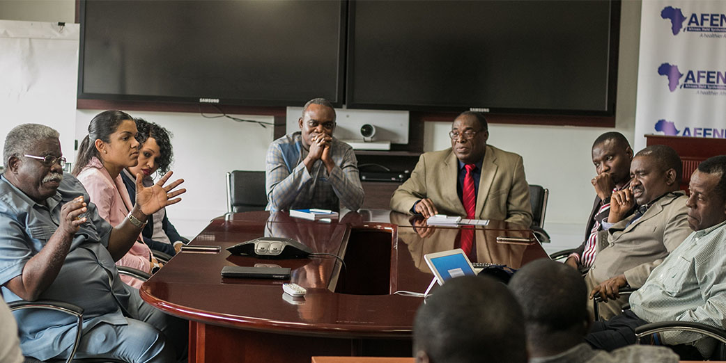AFENET Board of Directors' visit the Secretariat