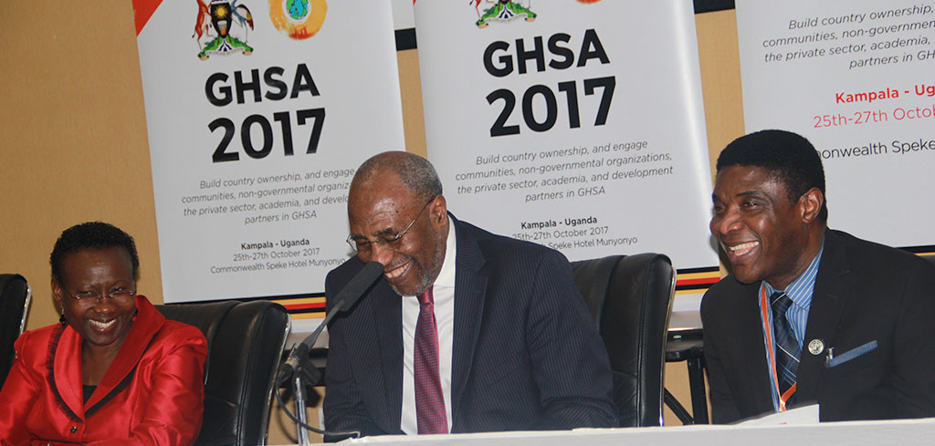 AFENET participates in Global Health Security Agenda (GHSA) Ministerial meeting in Uganda