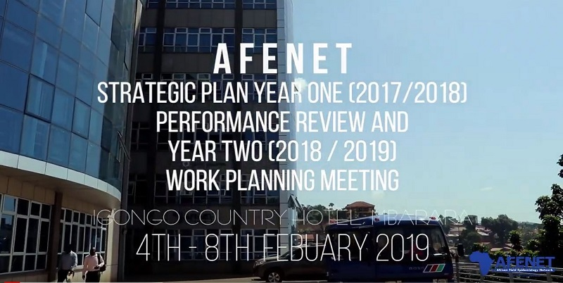 AFENET STRATEGIC PLANING MEETING, FEBRUARY 2019