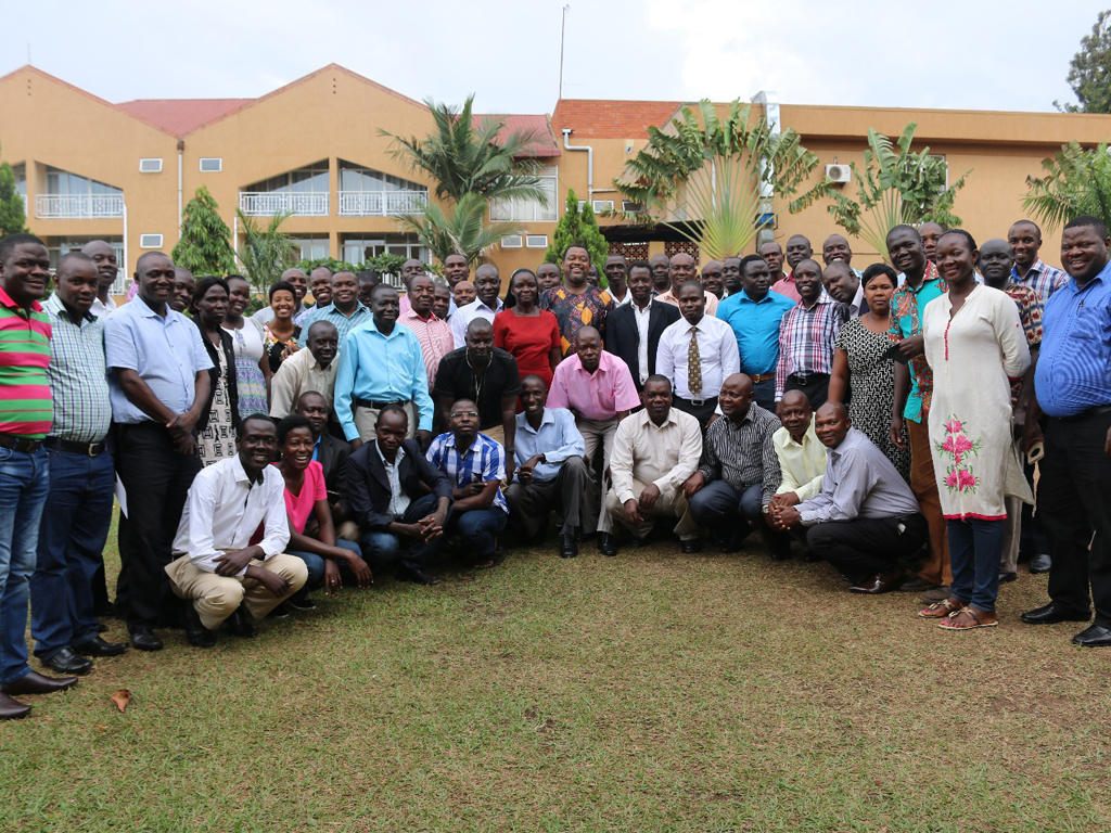 Uganda Frontline FETP Cohort IV and V graduation