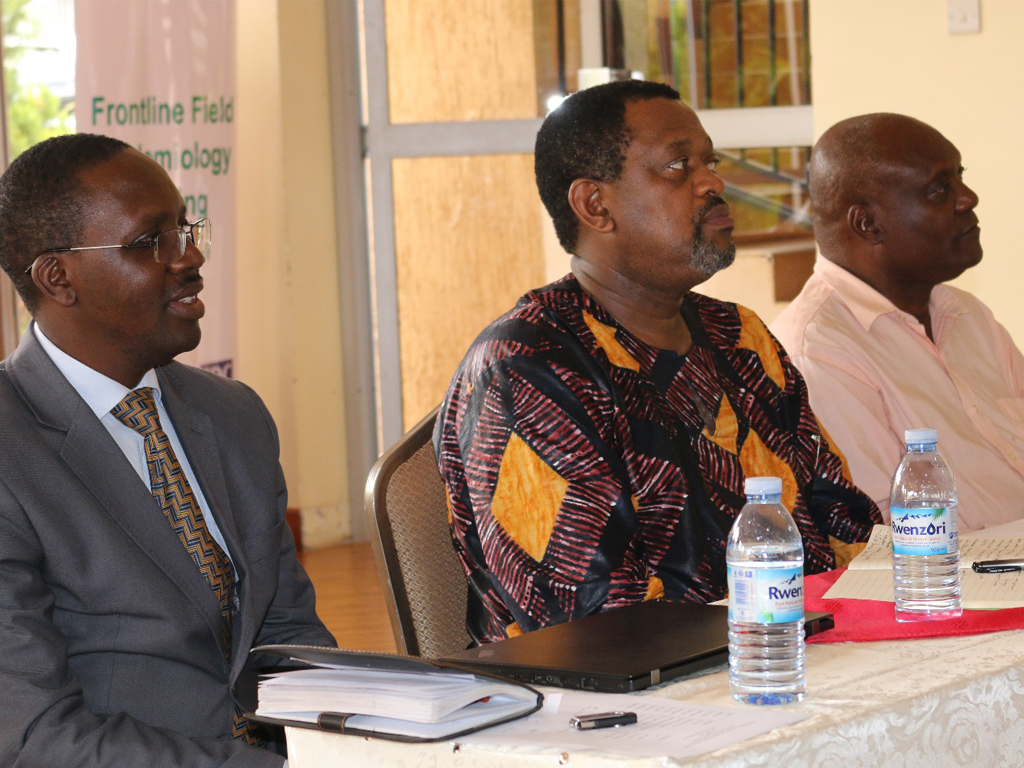 MOH officials at the Uganda Frontline FETP Graduation June 2017
